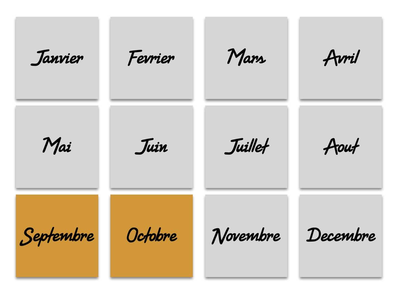 Septembre & Octobre