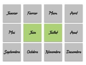 Juin & Juillet