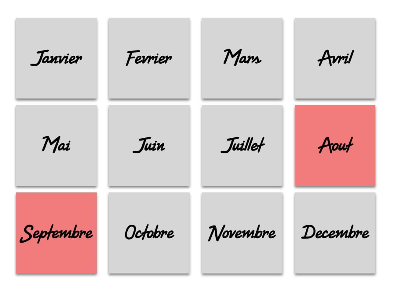 Août & Septembre